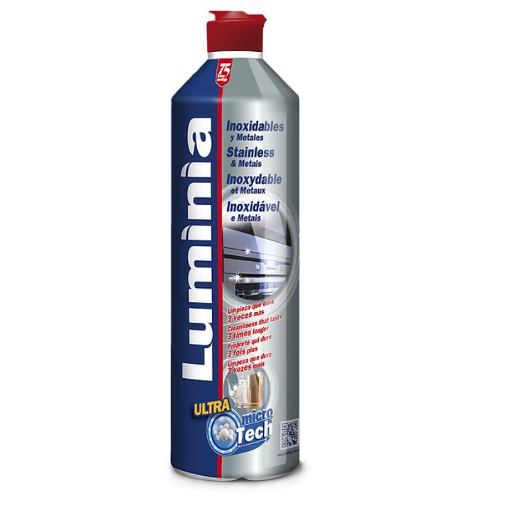 LUMINIA LIMPIA INOX Y METALES 500ml
